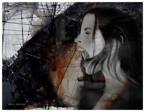 Evanescence Series - Digital collage by Danii Kessjan