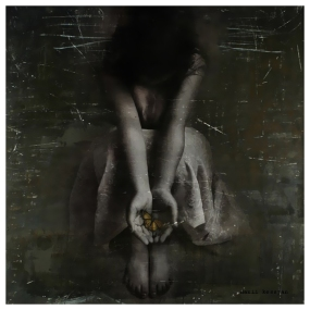 Forlorn Hope Series - Digital Collage by Danii Kessjan
